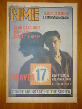 NME 1984 AUGUST 18 HEAVEN 17 JERRY DAMMERS VAN MORRISON DEAD CAN DANCE