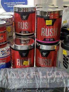 BSN EndoRush Endo Rush Pre-Workout + BSN NO XPLODE Black Small Shirt