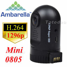 Ambarella A7LA50 Super XHD 1296P Mini 0805 Dashcam Car DVR Camera w/ GPS Logger