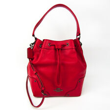 Coach Mickey Drawstring F35684 Women's Leather Shoulder Bag,Tote Bag Re BF524709
