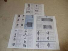JBL5 pg Brochure, 1957, Paragon, Harlan, C34, C38, Harkness