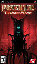 Dungeon Siege: Throne of Agony (PlayStation Portable, 2006) **COMPLETE**