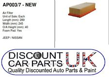 Air Filter to Suit GRAND (4.0 4x4 PETROL 04/99-09/05 )