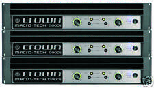 Crown - MA9000i series Amplifier- Brand New in the Box