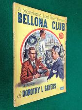 Dorothy SAYERS - BELLONA CLUB , Giallo Mondadori n. 35 (1947)