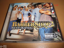 BARBERSHOP 2 soundtrack CD chingy OUTKAST g-unit D-12 avant MARY J BLIGE eve MYA
