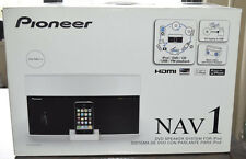 Pioneer-XW-NAV1-K-White-Bluetooth-Ipod-Iphone-DVD-CD-USB-HDMI-FM Radio-Remote