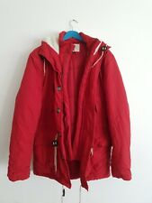 Manteau rouge homme Native Youth, taille L