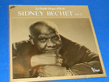 LOT 2 LP sydney BECHET double disque d'or JAZZ vogue 416033 luter LONGNON tibaut