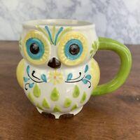 Colorful Owl Ceramic Coffee Cup Mug
