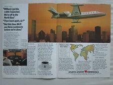 11/1981 PUB ATLANTIC AVIATION WESTWIND 2 BUSINESS AIRCRAFT 1 ORIGINAL AD