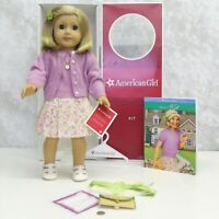 American Girl DOLL KIT In MEET OUTFIT Accessories Necklace Hat Purse Coin BOX +
