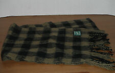 WOOLRICH SCARF ( 12 X 60 inches ) neck WRAP moss PLAID