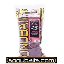 "900g "" SONUBAITS KRILL FEED PELLETS "" 4mm Feeder Pellets (14,99 EUR pro kg)"