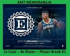Matisse Thybulle 76ers 2019/20 19/20 Panini Encased 1X CASE 8X BOX BREAK #1
