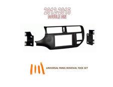 Fits KIA RIO, RIO 5 2012-2015 Car Stereo Double DIN Dash Kit, Tool Set