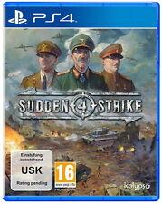 Sudden Strike Sony PlayStation 4 PS 4 * Wie Neu *