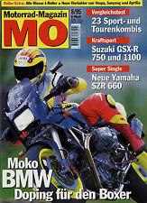mo 8/95 1995 Moko BMW R 1043 Suzuki GSX-R 750 W Tigcraft Honda Yamaha SZR 660