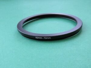 82mm-72mm 82-72 Stepping Step Down Male-Female Filter Ring Adapter 82mm-72mm