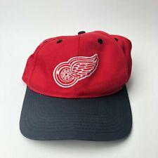 Logo 7 Snapback Hat Adult Adjustable Red Detroit Red Wings NHL Hockey Vtg 90s