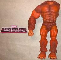 Marvel Legends Build A Figure BAF SASQUATCH RIGHT LEFT LEGS  ARM TORSO 4pc Lot