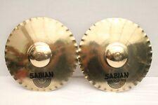 """Lot of 2 Sabian XSR 13"""" Fast Stax Cymbals"""