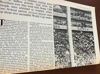 m7-4 ephemra 1970 picture article 1 page world cup peter bonetti