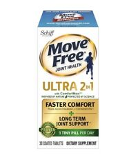 Schiff Move Free Joint Health Ultra 2 in 1 with Comfort Max, 30 Coated Tablets