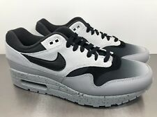 innovative design f2bb0 df4cd Nike Air Max 1 Premium Mens Shoe Size 9 Platinum Black Wolf Grey 875844 003