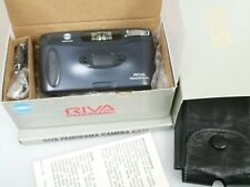 MINOLTA RIVA PANORAMA NEUWERTIG OVP Ledertasche MINT and boxed + leather case