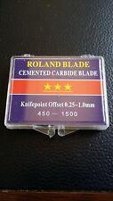 5 x BOXES OF ROLAND BLADES - VINYL CUTTER PLOTTER MACHINE