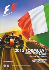 F1 MONZA GRAN PREMIO DI ITALIANO 2015 Hamilton POSTER MANIFESTO ORIGINALE 98cm x 68cm