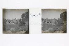 Agrigento Sicile Italie Italia Plaque de verre stéréo positive ca 1920