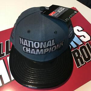 2012 Alabama Crimson Tide BCS National Champions Nike Locker Room Snapback NWT