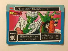Dragon Ball Z PP Card 178