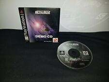 PlayStation Metal Gear Solid: VR Missions Demo NFS 1999 SLUS-90062 PS1 PSONE