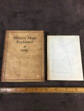 Military Maps Explained By Captain H.E. Eames 1908