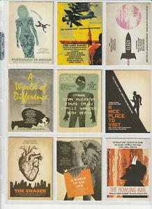 Twilight Zone Archives Complete 63 Card Set  Plus Wrapper 2020