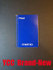 Mead Spiral Memo Book, Ruled 40s', Open Side, Cover Color Random, 6x4in,1pk