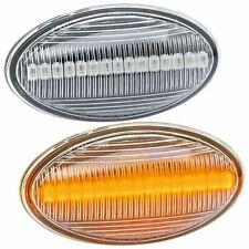 LED Clignotants Latéraux pour BMW Mini R50 R52 R53 Verre Transparent [7144]