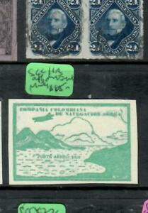 COLOMBIA   (P2511B)    AIR MAIL  SC C11B TYPE 2   MOG