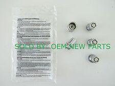 Genuine Toyota Camry Corolla Avalon Tacoma Sienna Chrome 4 Wheel Locks with Key