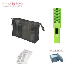 Quality Travel Mesh Bag 6 X 8 with Hair Brush Travel Set | Going In Style