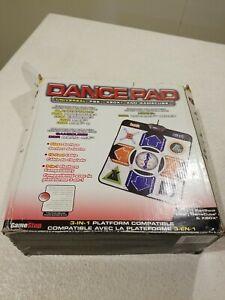 GameStop Universal Dancepad 3-in-1 PS2 Xbox Gamecube Dance Pad Controller