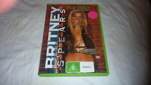 Britney Spears - Unauthorised Biography - Star Baby Scrapbook - VGC - DVD - R4
