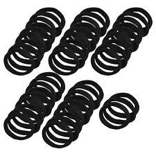 48 PZ bande nere gomma elastica dei capelli titolari coda di cavallo per le J0J6