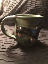 Handmade Pottery Coffee Mug ~Black And Tan Dachshund~