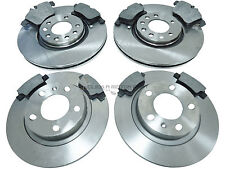 VAUXHALL CORSA 1.6 TURBO VXR 2007-2013 FRONT AND REAR BRAKE DISCS & PADS SET NEW