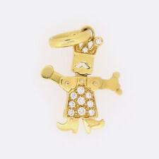 Pomellato King o Jester Diamante Ciondolo 18ct oro giallo