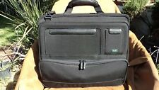 MVision T300 Classic Black Ballistic Nylon Laptop Briefcase